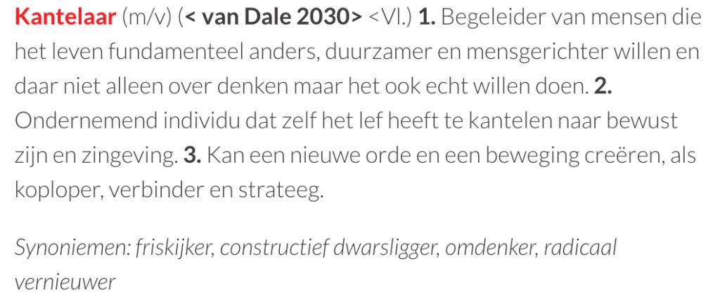Definitie Kantelaar - www.kantelpunt.be